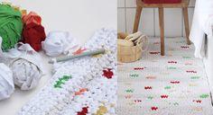 Upcycling : un tissu au crochet