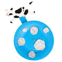 'The Cow Tripped Over The Moon' Paper Plate - CleverPatch