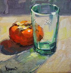 cathleen rehfeld • Daily Painting: Through Glass