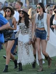 Image result for Kendall and Kylie Jenner  Coachella