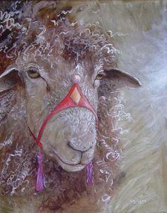 Wendy Vaughan | Sheep's Head With Tassels