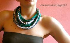 Necklaces Fabric - Collane in tessuto