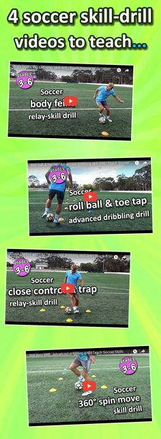 Soccer skills to teach at school for PE/sport lessons - drills, relays and teaching tips #soccertips #soccerdrills