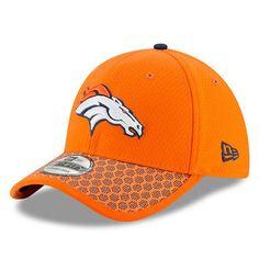 Men s Denver Broncos New Era Orange 2017 Sideline Official 39THIRTY Flex Hat  Broncos Sweatshirt 0f5599fb9669