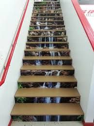 Image result for vinyl graphics on stairs