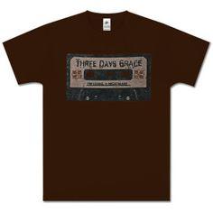 Three Days Grace Taped T-Shirt
