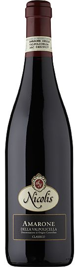 Fruity and intense: Amarone della Valpolicella Classico Nicolis. Available at www.amarone-ripasso.com