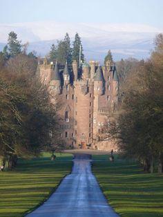 Glamis castle Scotland: