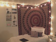 bedrooms with tapestry teenage girls - Google Search
