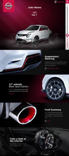 Nissan Facebook App by Nemanja Ivanovic, via Behance