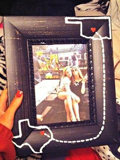 14. Home State DIY Picture Frame