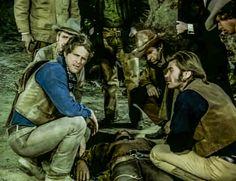 Western TV show: Alias Smith & Jones, Hannibal Heyes & Kid Curry, starring Pete Duel & Ben Murphy. Episode: 21 Days to Tenstrike