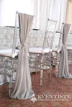 Wedding Special Event Chiavari Chair Cover by KRISSYSWEDDINGSHOP