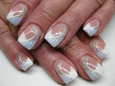 nagelpflege markranstädt, nageldesign ausbildung, You can collect images you discovered organize them, add your own ideas to your collections and share with other people. Classy Nail Designs, Long Nail Designs, French Nail Designs, White Nail Designs, Diy Nail Designs, Nail Designs Spring, Acrylic Nail Designs, Cute Nails, Pretty Nails