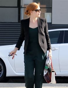 Pin for Later: Can't-Miss Celebrity Pics!  Amy Adams looked ready for business on Wednesday in LA.