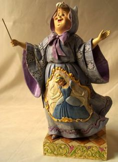 jim shore cinderella | Jim Shore Disney Cinderella Fairy Godmother