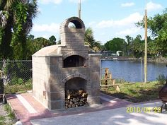 Greg built this great pizza oven.