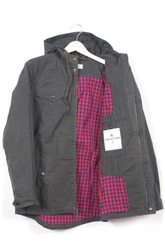 Irving Waxed Cotton Jacket
