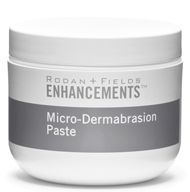 ENHANCEMENTS Micro-Dermabrasion Paste by Rodan + Fields is a high-glide, oil-free formula designed to promote maximum gentle exfoliation. Use intermittently to enhance cell turnover and improve skin tone and texture. Lucky Magazine reports that it smoothes away rough spots. This is my <3 product!!!! fascinatingskin.myrandf.com