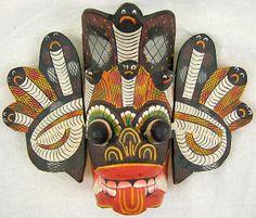 Raksha masks of Sri Lanka