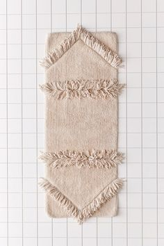 Shop Juno Shag Runner Bath Mat at Urban Outfitters today. Pirate Bathroom Decor, Bathroom Rules, Boho Bathroom, Diy Bathroom Decor, Bathroom Mat, Bathroom Cabinets, Bathroom Renovations, Small Bathroom, Bathroom Ideas