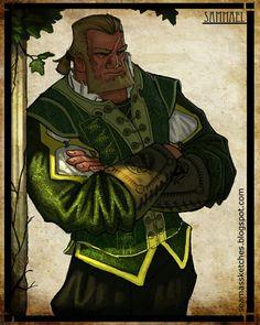 Robert Jordan - Wheel of Time Art :: Seamas Gallagher, artist :: Sammael Best Fantasy Series, Fantasy Books, Fantasy World, Fantasy Art, Fantasy Fiction, Character Concept, Character Art, Animation Character, Character Portraits