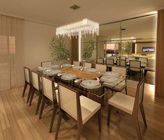 sala de jantar decoração simples - Pesquisa Google