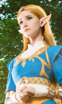 Wild elf ears are the best elf ears for many fantasy and anime costumes. Aradani, the best elf ears on the planet. Anime Costumes, Cool Costumes, Cosplay Costumes, Cosplay Outfits, Princesa Zelda, Elf Ears, Amazing Cosplay, Breath Of The Wild, Legend Of Zelda