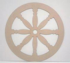 roda de carroça mdf 60cm 3mm