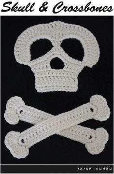 "skull and crossbones - for ""Talkl like a Pirate day"""