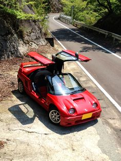 Autozam AZ-1 Japanese Domestic Market, Mazda Cars, Jdm Cars, Classic Japanese Cars, Kei Car, Microcar, Japanese Motorcycle, Japan Cars, Mini Trucks