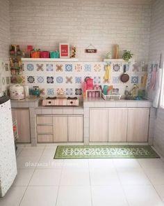 Kitchen Room Design, Best Kitchen Designs, Home Room Design, Home Decor Kitchen, Kitchen Interior, Small Kitchen Set, Kitchen Sets, Minimalist Home Interior, Minimalist Kitchen