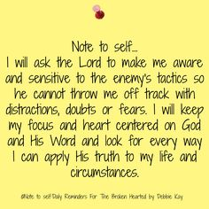 Note to self…Oct. – Note To Self – Daily Reminders For The BrokenHearted Faith Quotes, Bible Quotes, Me Quotes, Wisdom Bible, Mommy Quotes, Devotional Quotes, Forgiveness Quotes, Biblical Quotes, Prayer Quotes