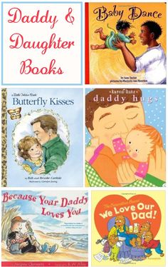 Daughter Time Great father daughter books to read together! A list of daddy and daughter books perfect for Father's Day.Great father daughter books to read together! A list of daddy and daughter books perfect for Father's Day. Daddy Day, Daddy Daughter, Mother Son, Daughters, Best Children Books, Childrens Books, Dancing Baby, Day Book, Children's Literature