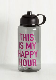 A Refreshment a Day Water Bottle #dotshopsave