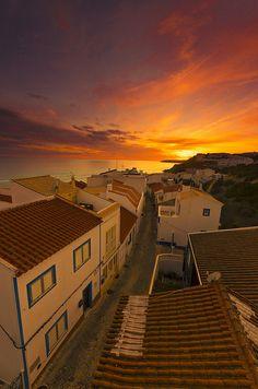 Salema Sunset, Algarve, Portugal  | Flickr - Photo Sharing!