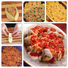 Bulgurlu Kabak Sarması Cauliflower, Cooking Recipes, Pasta, Yummy Food, Salad, Meals, Vegetables, Ethnic Recipes, Instagram Posts