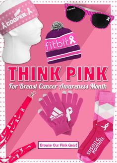 October is Breast Cancer Awareness Month! Promote your event with our line of Think Pink gear: http://ss1.us/a/Fs6dxHqH #BreastCancerAwarenessMonth #ThinkPink