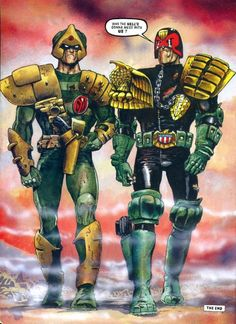 Loved these guys when I was a kid. Loved Karl Urban's reincarnation. He revived Dredd from the chasm Stallone had cast him into. Now just waiting on a Stronty Dog movie...or have I missed that?