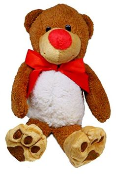 $13.99 | Bowtie Cuddling Bear | A great plush for Bed Time! Has a white…