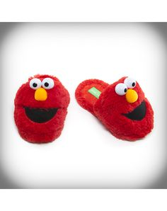 Elmo Adult Slippers