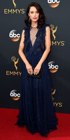 See the Hottest Looks from the 2016 Emmy Awards Red Carpet - Abigail Spencer from InStyle.com