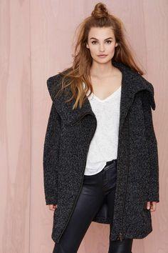 Just Female Livvy Wool Coat