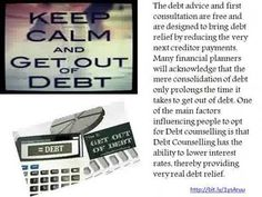 Get relief from Debt and help from Debt Counselling