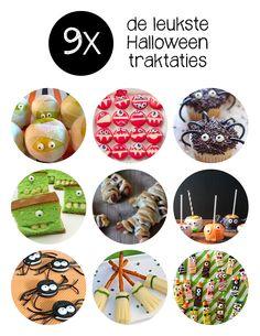 Trakteren tijdens de Halloween periode? Wij zochten, al zeggen we het zelf, onwijs leuke Halloween traktaties voor je uit.
