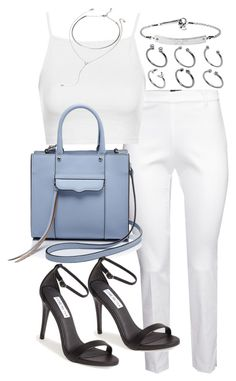 birthday dinner by florencia95 on Polyvore featuring polyvore, fashion, style, Topshop, H&M, Steve Madden, Rebecca Minkoff, MICHAEL Michael Kors, ASOS and Forever 21