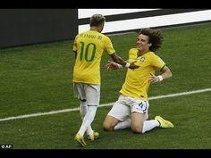 Por poco! Brasil gana! Chile vs Brasil