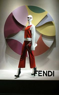 Fendi Window Display (Vision Display Singapore)