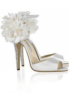 Brian Atwood's The Aurora...Now, this is a wedding shoe