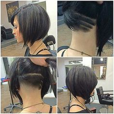 Party in the back. Sassy idea.